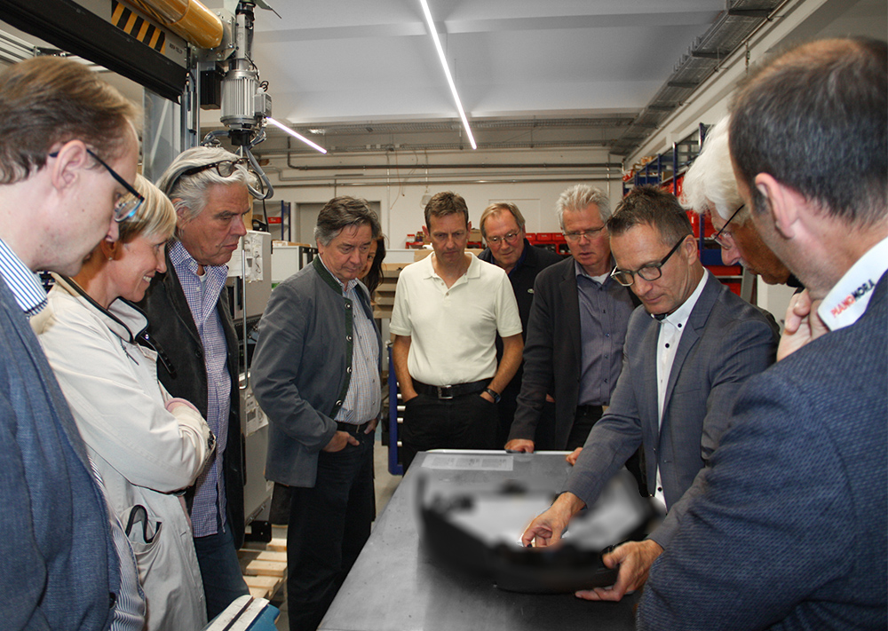 Besuch des Rotary Clubs bei AKE